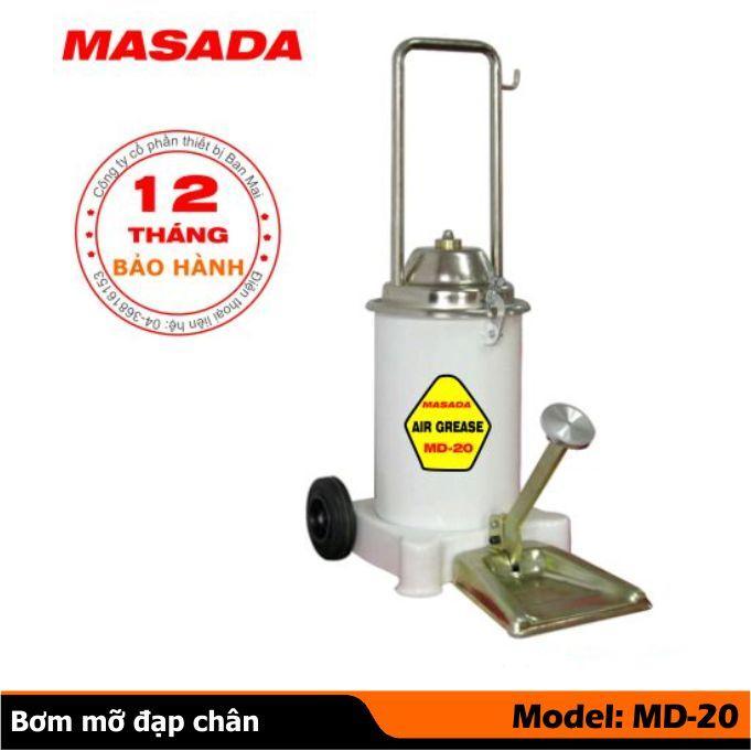 Máy bơm mỡ đạp chân MD20