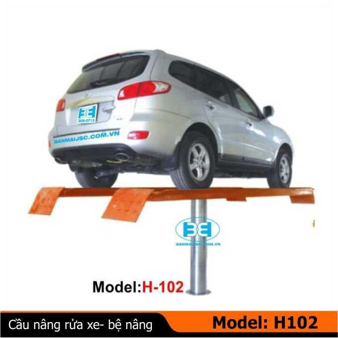 Cầu nâng rửa xe ô tô (kiểu bàn nâng)