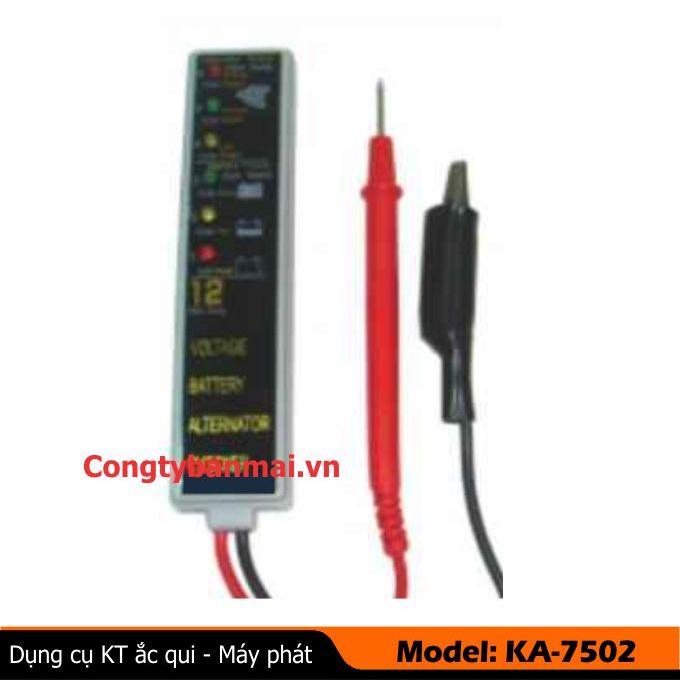 Dụng cụ kiểm tra ắc qui  & máy phát KA-7502