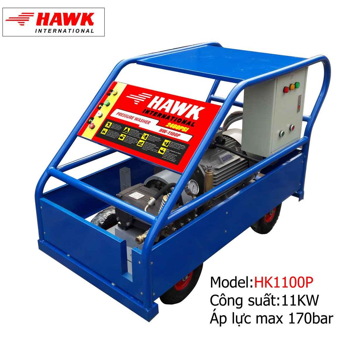 Máy phun rửa công nghiệp 11 KW-170bar