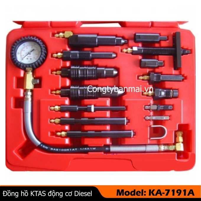 Đồng hồ  kiểm tra áp suất  động cơ xe tải  KA-7191A