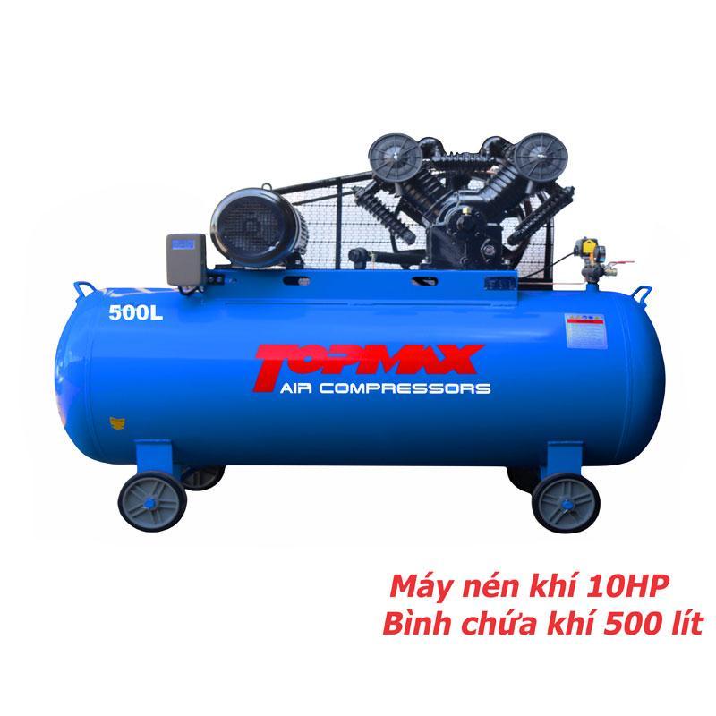 Máy nén khí 10HP bình chứa 500L