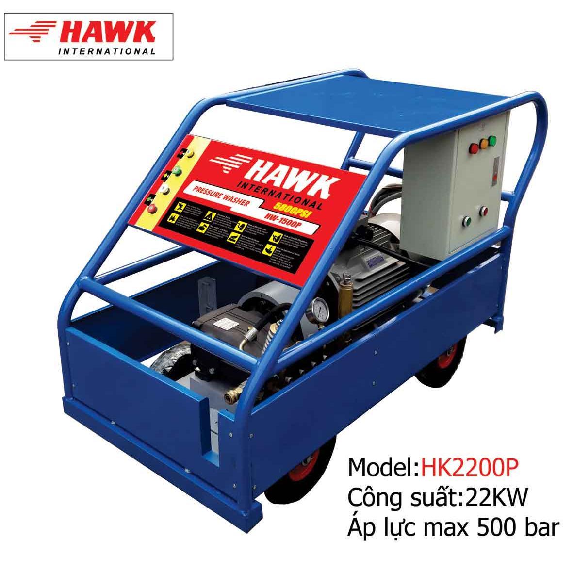 Máy phun rửa công nghiệp 22KW-500Bar
