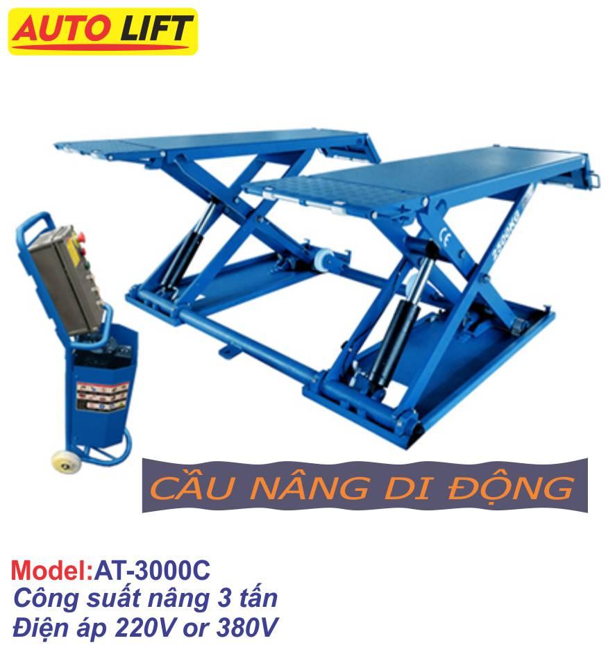 Cầu nâng cắt kéo di động (nâng bụng)  AT-3000C