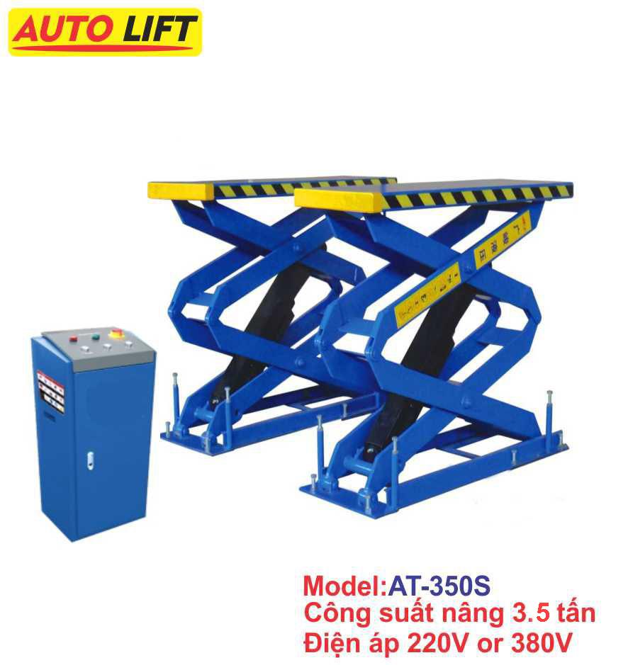 Cầu nâng cắt kéo âm nền AT-350S