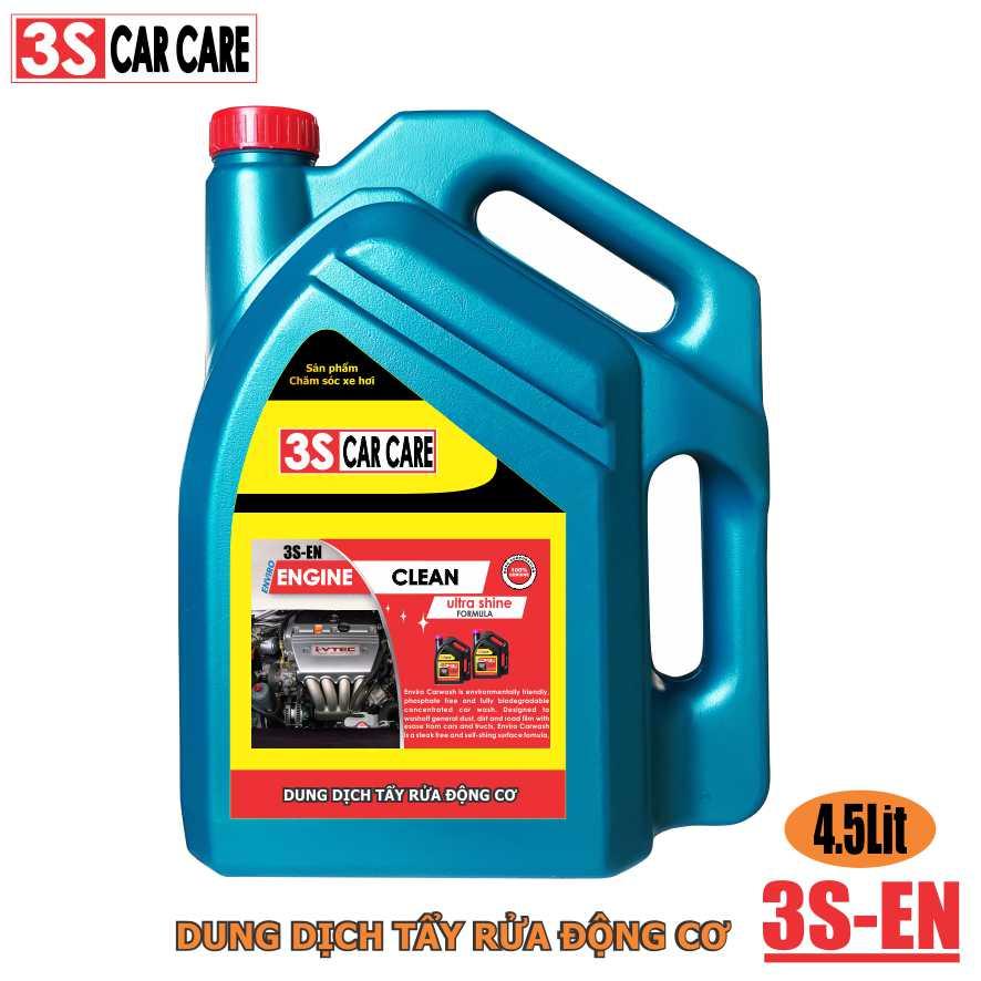 Dung dịch rửa máy 3S-EN dung tích 4,5 lít hiệu 3S CAR CARE