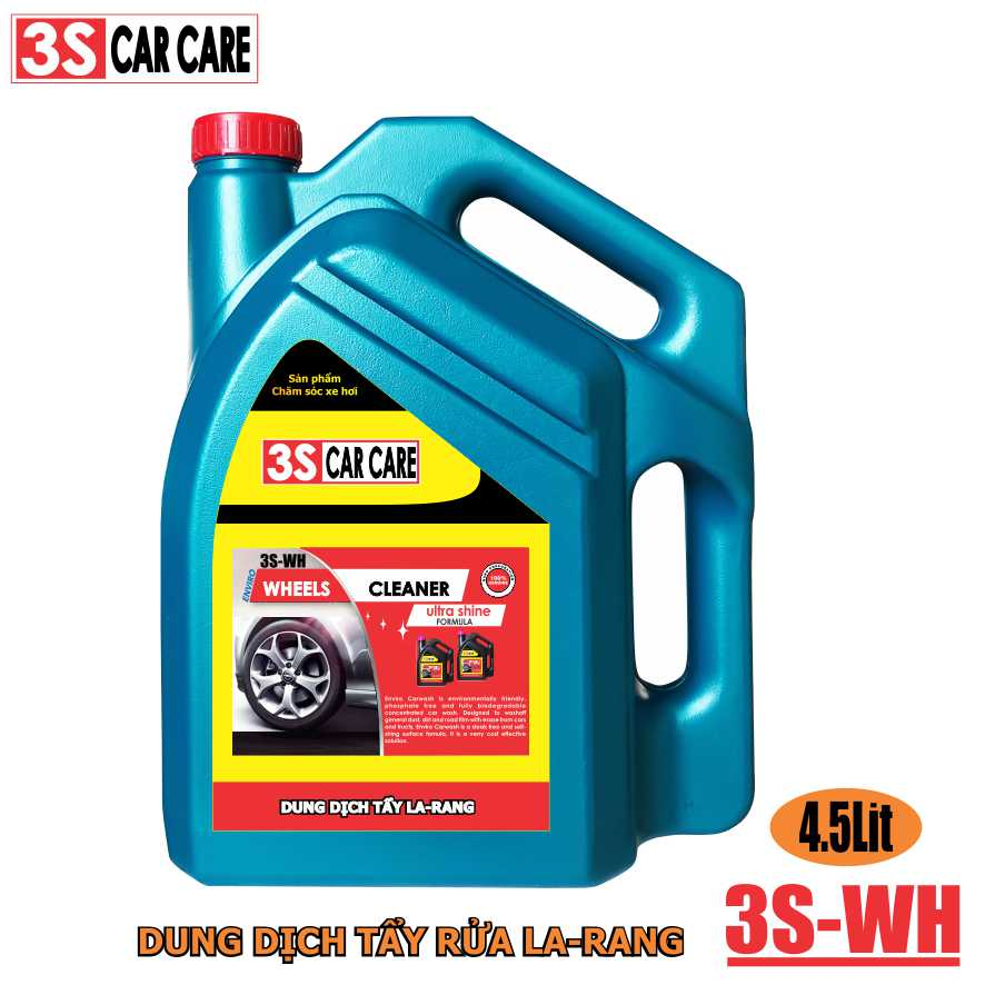 Dung dịch tẩy rửa La-zăng 3S-WH 4,5 lít