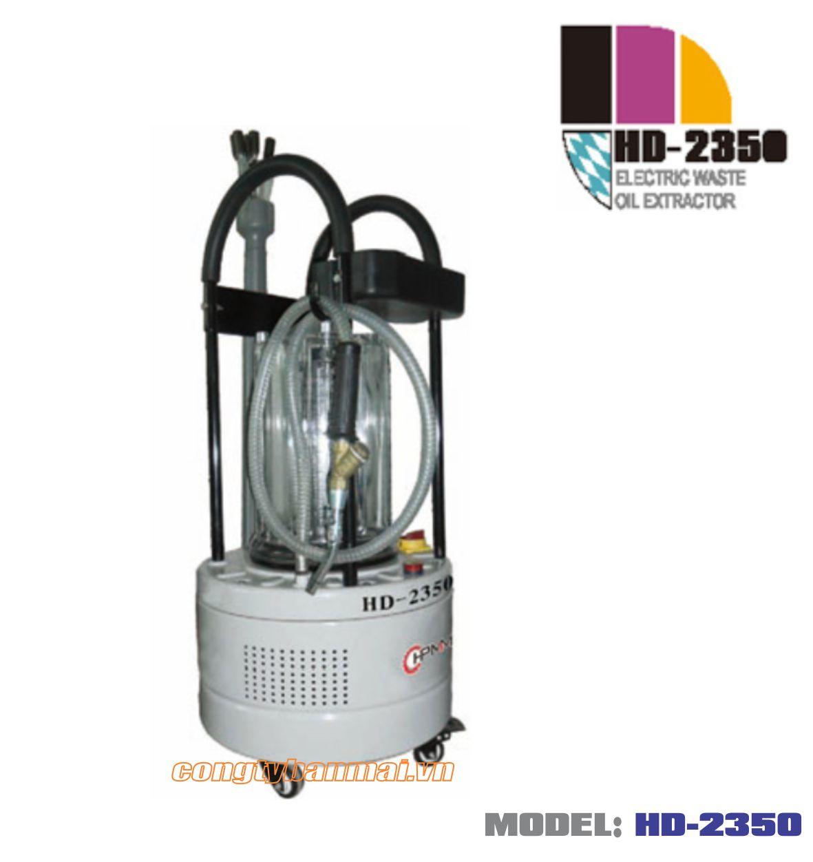 Máy hút dầu thải bằng điện HD-2350