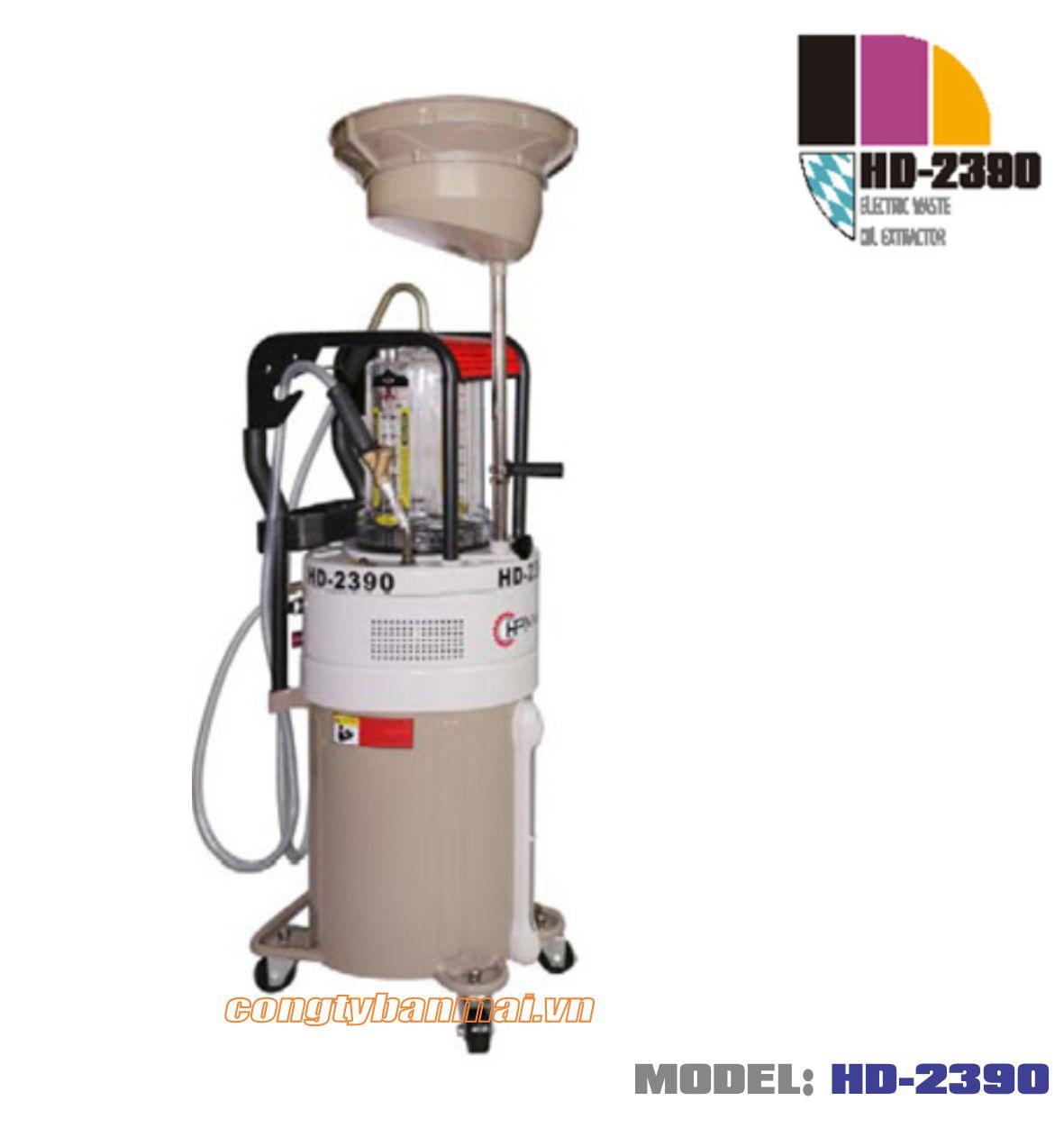 Máy hút dầu thải bằng điện HD-2390