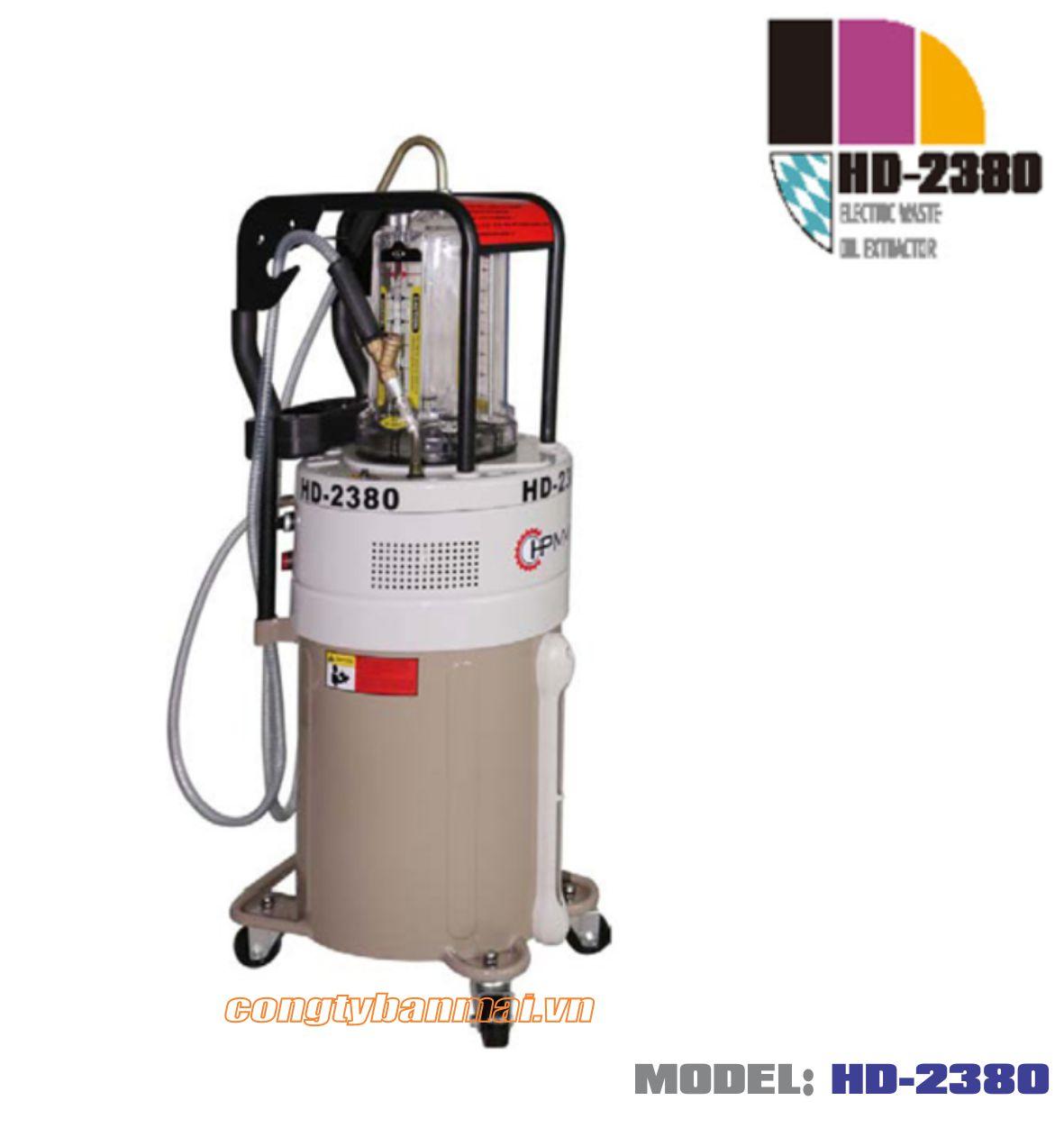 Máy hút dầu thải bằng điện HD-2380