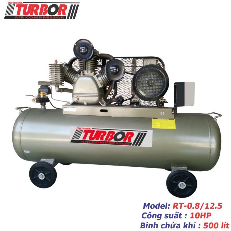 Máy nén khí 2 cấp nén 10HP-500 lít