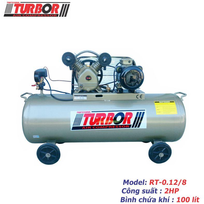 Máy nén khí Piston 2HP - RT-0.12/8