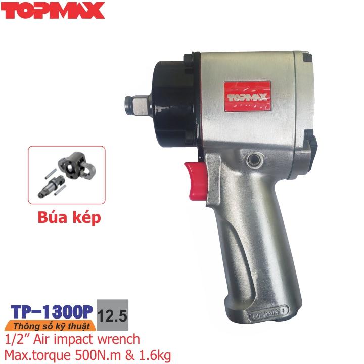 Súng xiết bulong đầu ngắn 1/2 inch  TP-1300P