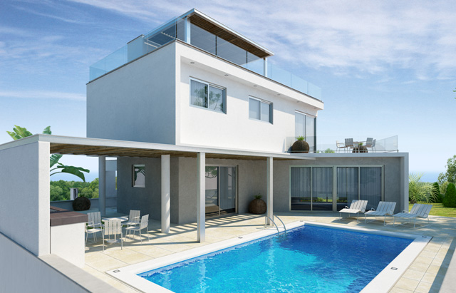 ELITE BLU HILLSIDE RESIDENCES V11 TYPE B 3 BEDROOM VILLA