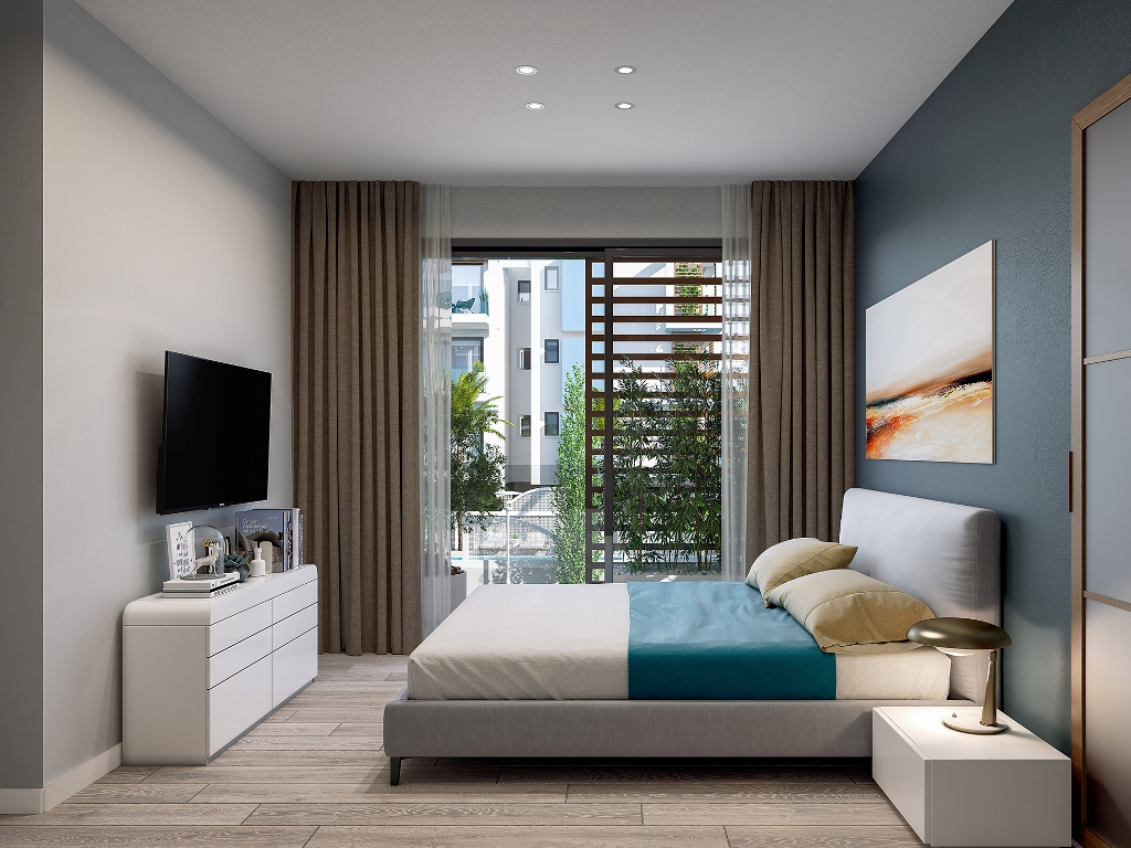 Cosmo Residences A302 1 BEDROOM APARTMENT