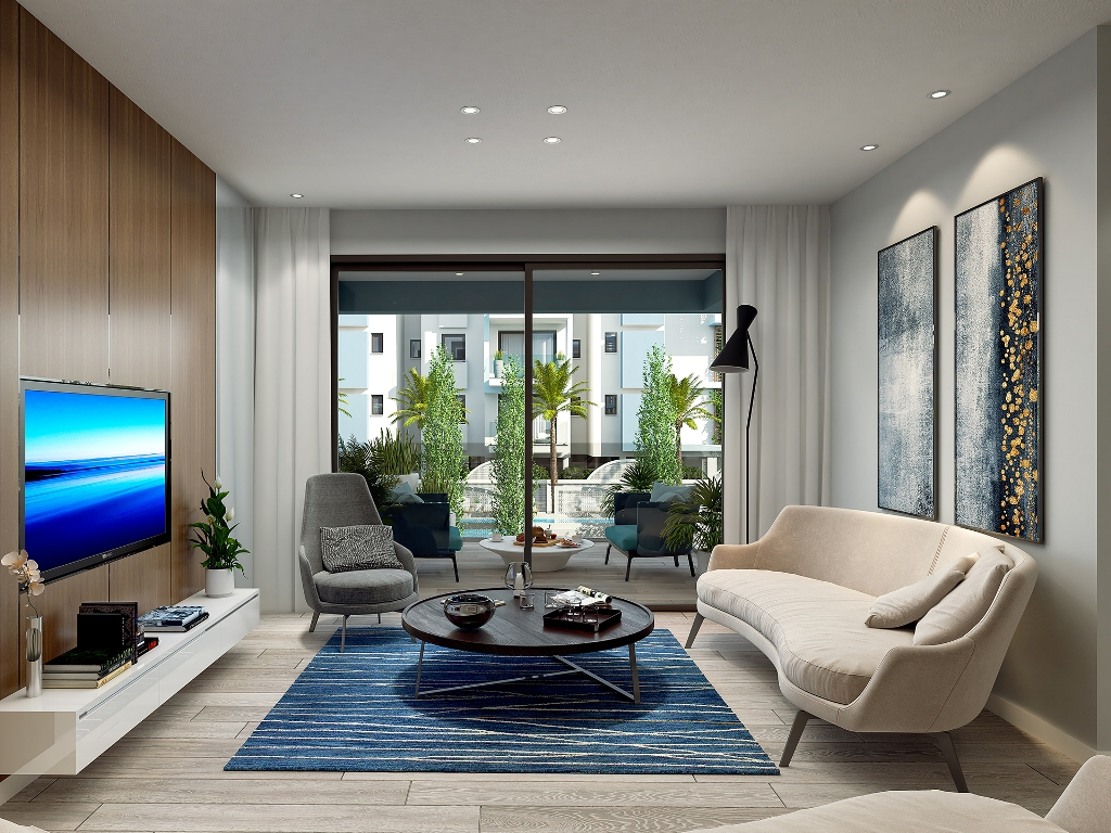 COSMO RESIDENCES A204 1 BEDROOM APARTMENT