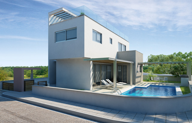 ELITE BLU HILLSIDE RESIDENCES V6 TYPE TH 3 BEDROOM VILLA