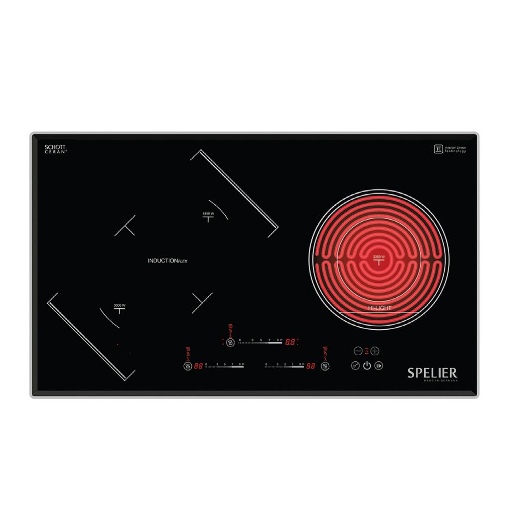 BẾP TỪ- HỒNG NGOẠI SPE IC 938 EG