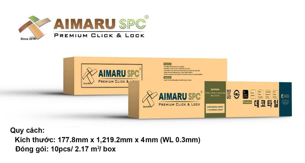 Sàn nhựa Aimaru SPC