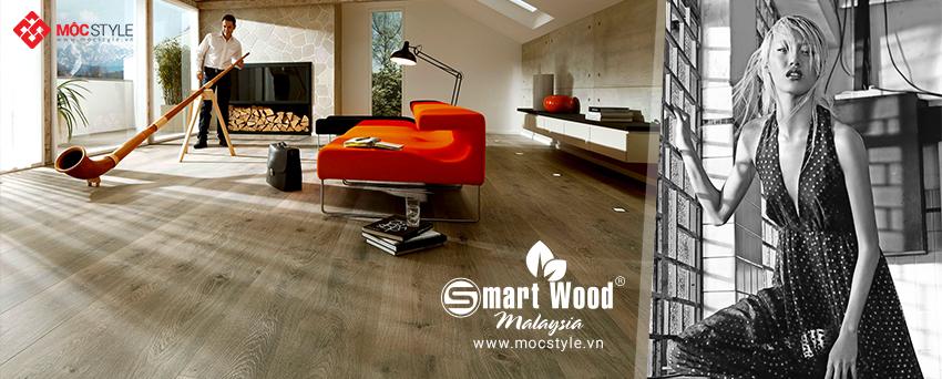 Sàn gỗ Smartwood 12mm