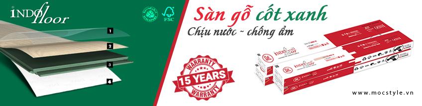 Sàn Gỗ Việt Nam Indo-or 12mm