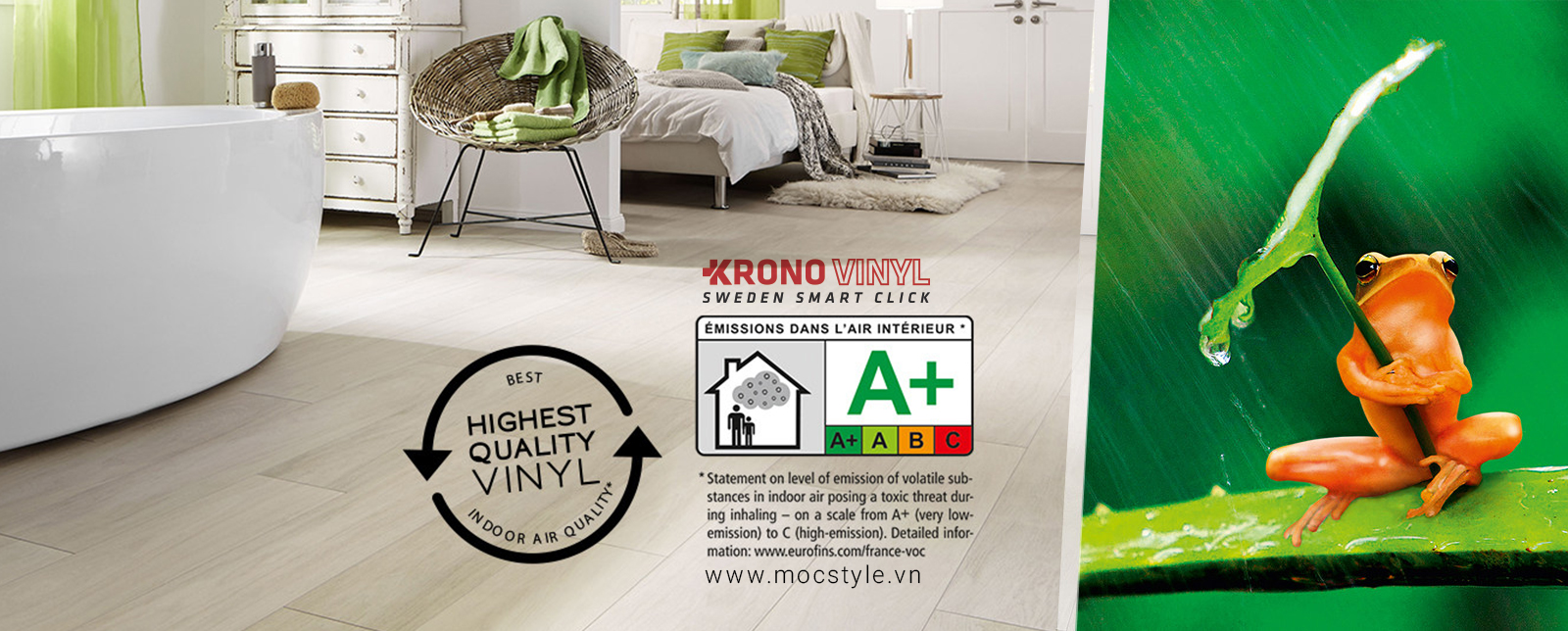 Sàn nhựa KRONO VINYL - Krono Plus+ 6mm
