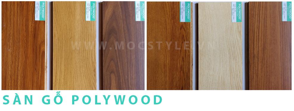 Sàn gỗ Polywood