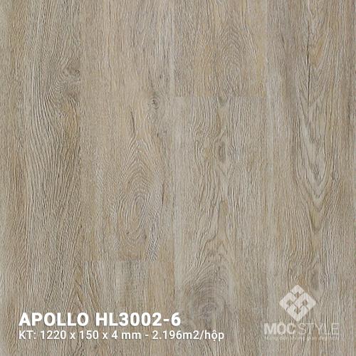 Sàn nhựa hèm khóa Apollo HL3002-6