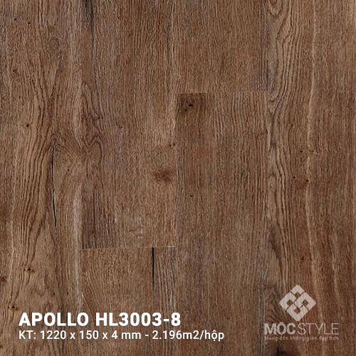 Sàn nhựa hèm khóa Apollo HL3003-8
