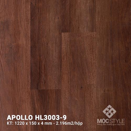 Sàn nhựa hèm khóa Apollo HL3003-9