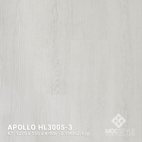 Sàn nhựa hèm khóa Apollo HL3005-3