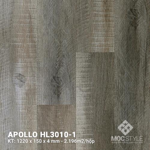 Sàn nhựa hèm khóa Apollo HL3010-1