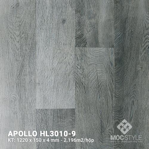 Sàn nhựa hèm khóa Apollo HL3010-9