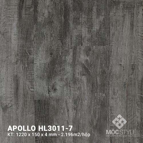 Sàn nhựa hèm khóa Apollo HL3011-7