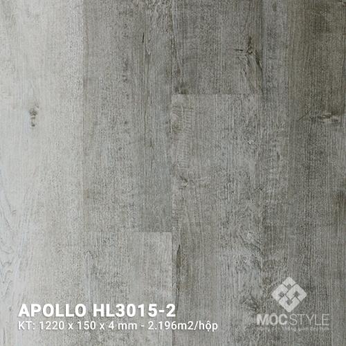 Sàn nhựa hèm khóa Apollo HL3015-2