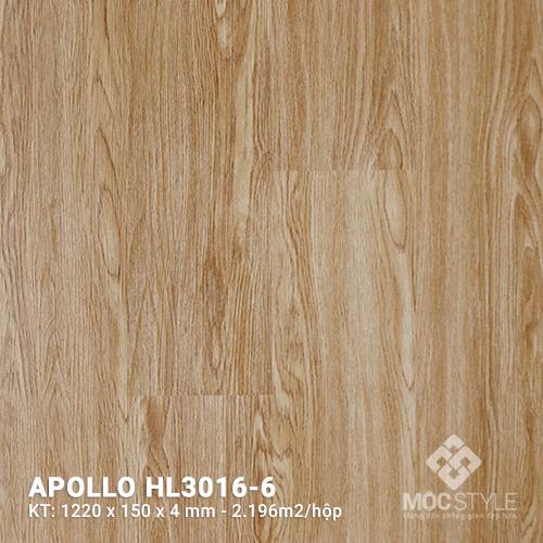 Sàn nhựa hèm khóa Apollo HL3016-6