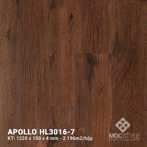 Sàn nhựa hèm khóa Apollo HL3016-7