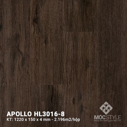 Sàn nhựa hèm khóa Apollo HL3016-8