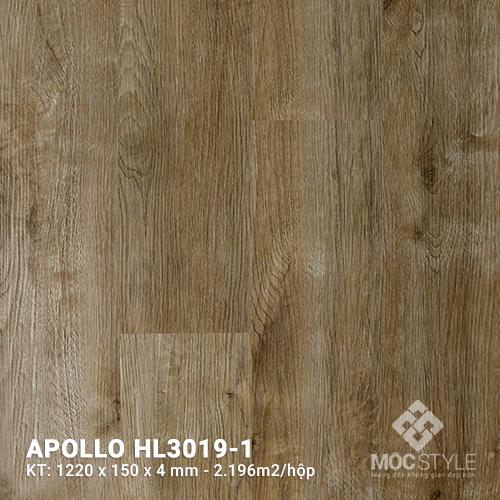 Sàn nhựa hèm khóa Apollo HL3019-1
