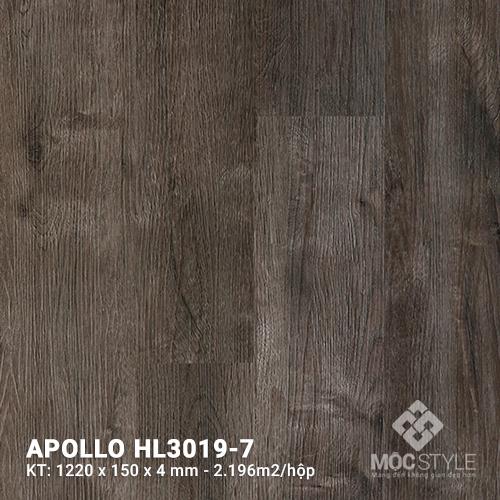Sàn nhựa hèm khóa Apollo HL3019-7