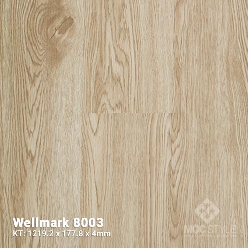 Sàn nhựa hèm khóa Wellmark 8003