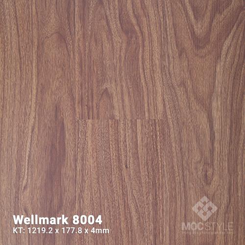Sàn nhựa hèm khóa Wellmark 8004