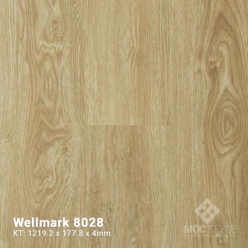 Sàn nhựa hèm khóa Wellmark 8028