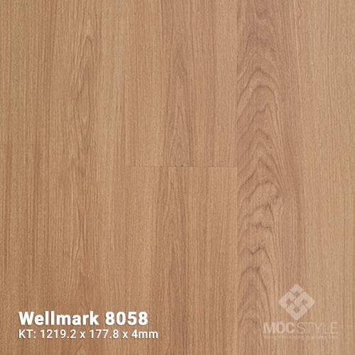 Sàn nhựa hèm khóa Wellmark 8058