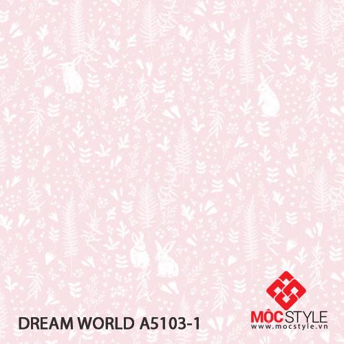 Giấy dán tường Dream World A5103-1