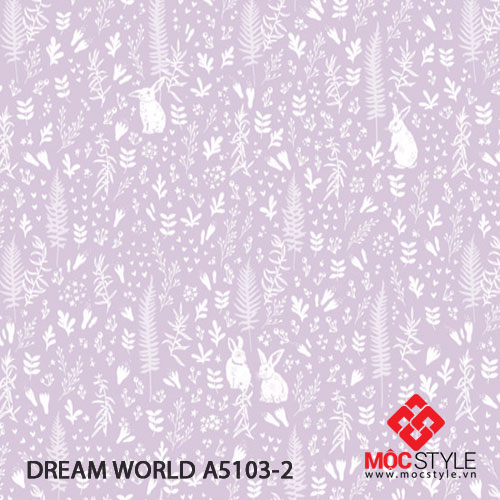 Giấy dán tường Dream World A5103-2