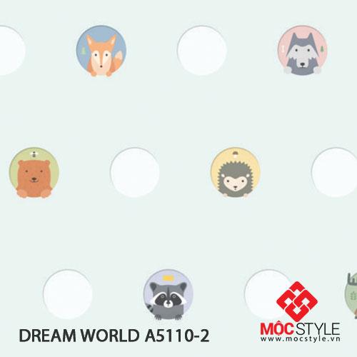Giấy dán tường Dream World A5110-2