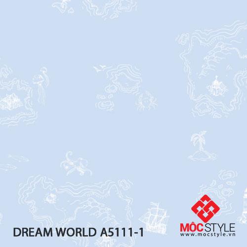 Giấy dán tường Dream World A5111-1