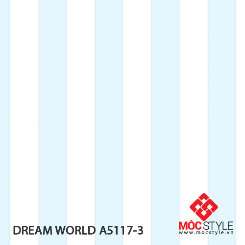 Giấy dán tường Dream World A5117-3