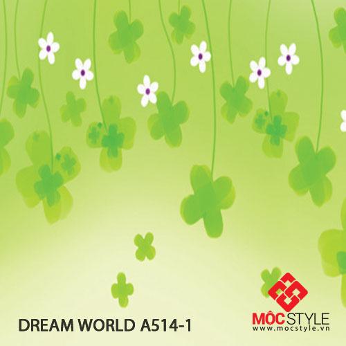 Giấy dán tường Dream World A514-1